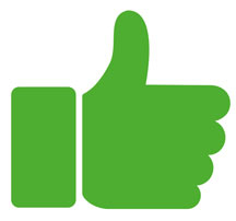 Thumbs Up Reviews CTA